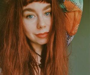 blue eyes, bohemian, and green image