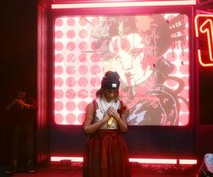 cyberpunk, girl, and prayer image