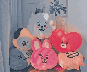 background, pet theme, and bt21 image