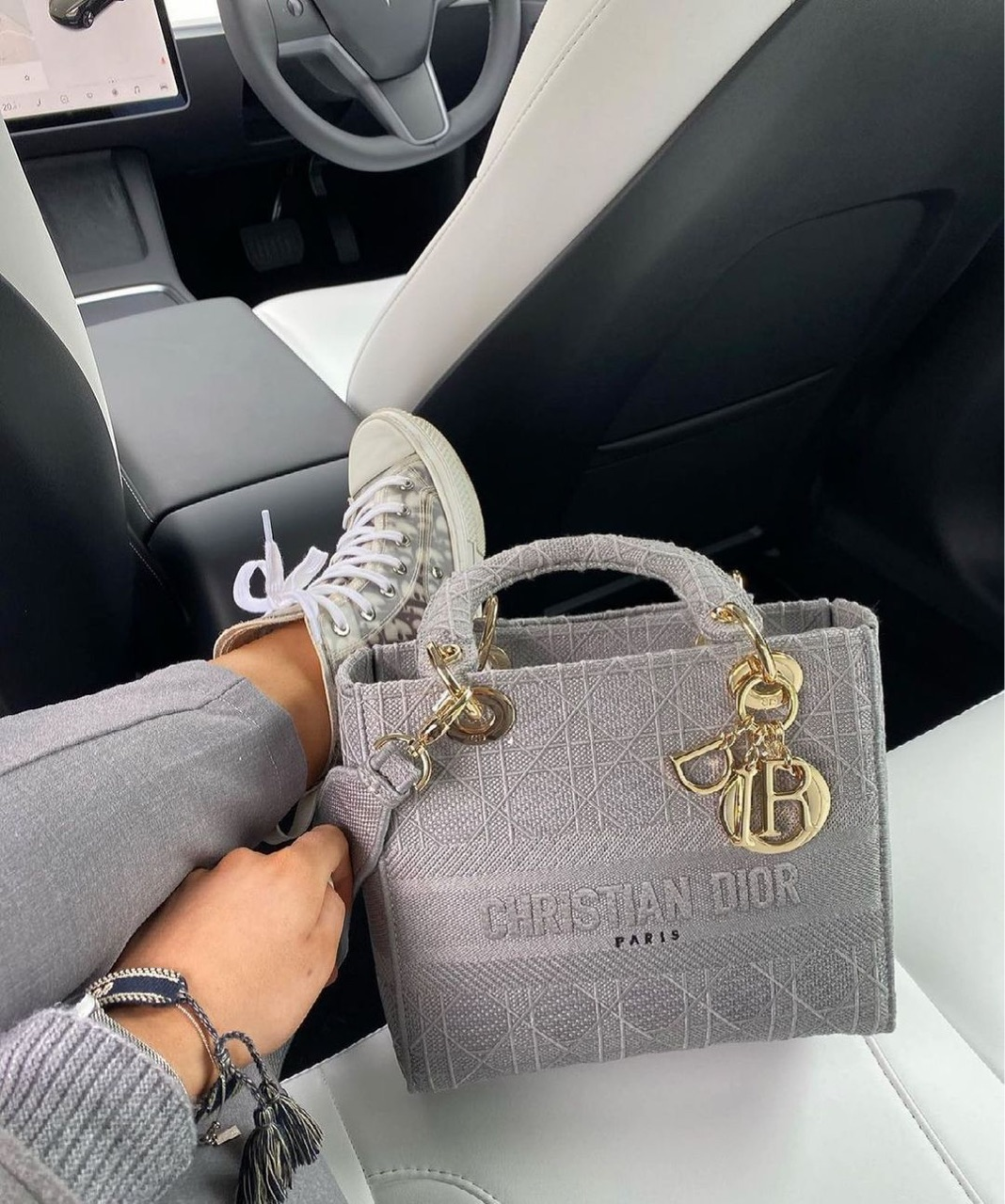 bag, clothing, and Christian Dior image