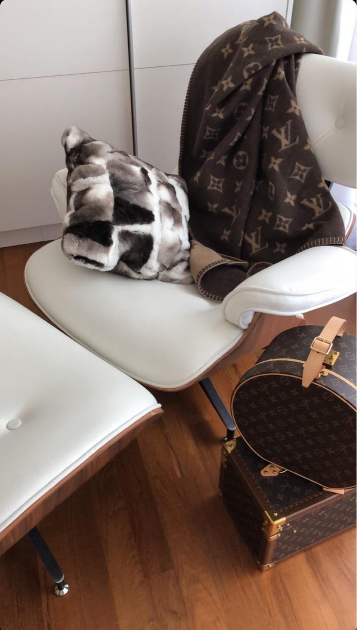 fur, decor, and Louis Vuitton image