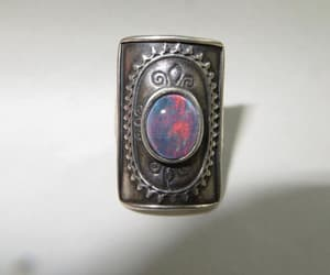 etsy, size 7 ring, and rings image