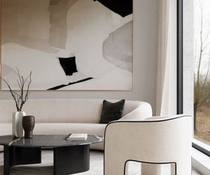 art and living room image