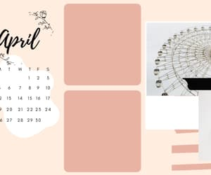 aesthetic, pink, and wallpaper organizer image