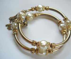 boho, etruscan, and vintage bracelet image