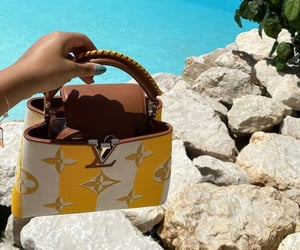 bag, Louis Vuitton, and vacation image