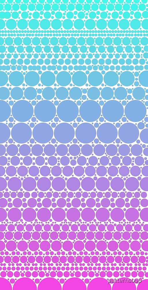 background, pastel, and polka dots image