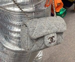 bag, chanel, and grey image