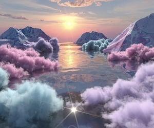 beauty, paradise, and heaven image