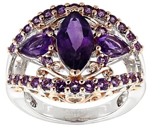 amethyst, bijoux, and bling image