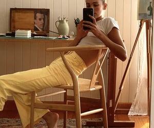 girl, fashion, and home image