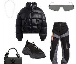 bag, outwear, and Balenciaga image