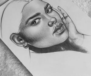 drawing, cute, and art image