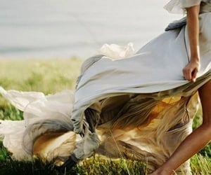 dress, photography, and nature image
