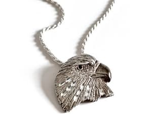 etsy, vintage jewelry, and american eagle image