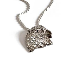 etsy, american eagle, and vintage pendant image