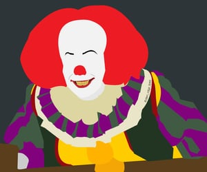 background, clown, and fan art image
