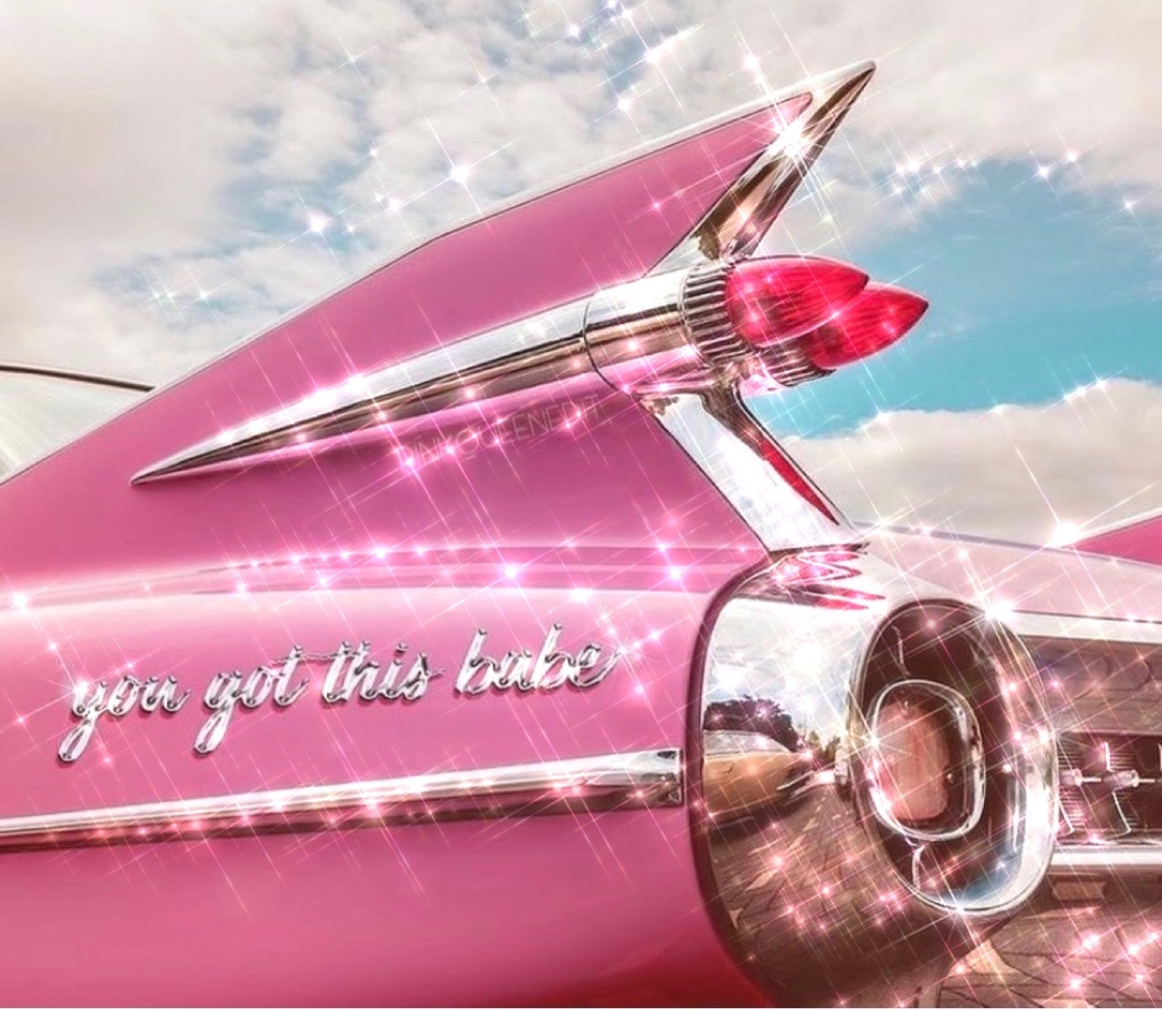 aesthetic, bling, and pink image