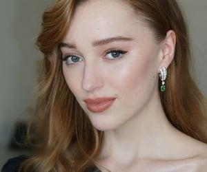 belleza, elegancia, and maquillaje image