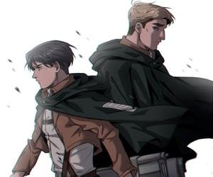 anime, Erwin, and manga image