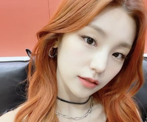 girls, red hair, and itzy image