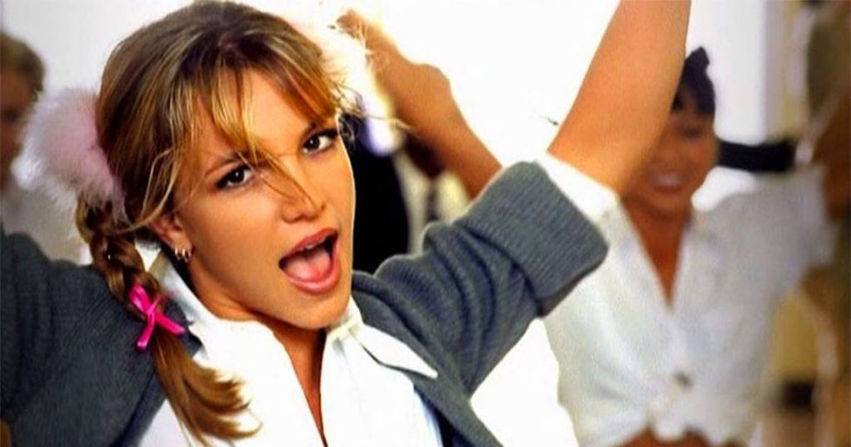 article, britney spears, and 90s image