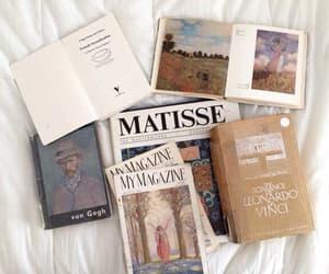 art, book, and da vinci image