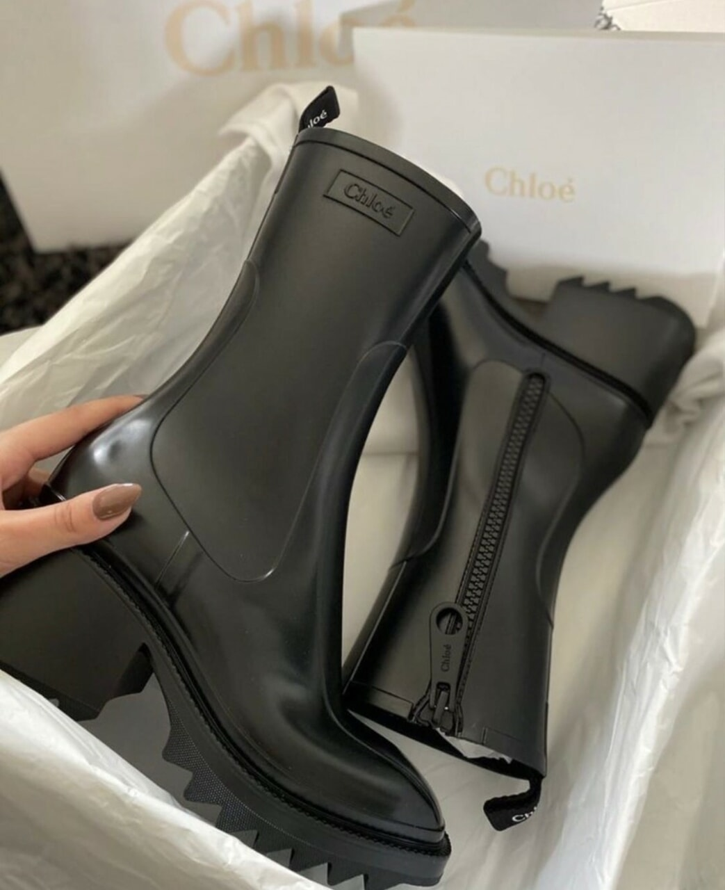 ankle boots, black shoes, and boots image