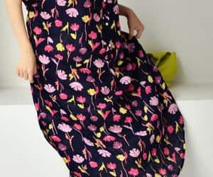 etsy, long dress, and raglan sleeve dress image