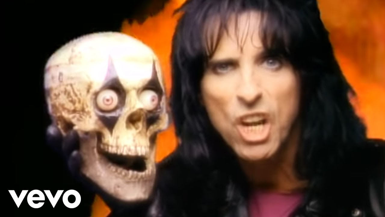 90s, alice cooper, and glam metal image