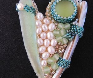 beads, jewelry, and pearls image