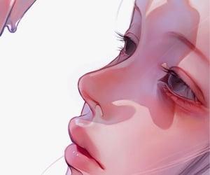 anime, art, and girl icon image