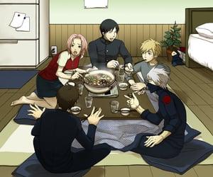 kakashi, team 7, and sai image
