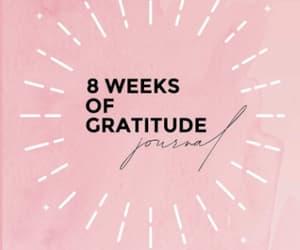 journal, gratitude, and mindfulness image