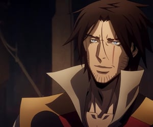 anime, trevor belmont, and manga image