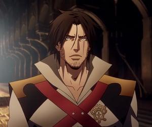 anime, trevor belmont, and castlevania image