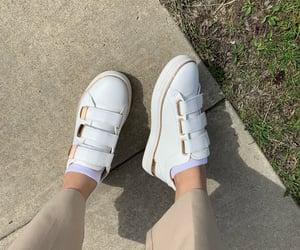 aesthetic, sidewalk, and white image