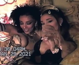 ariana grande, 34 + 35 remix, and doja cat image