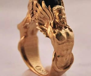 baroque, gold, and jewelry image