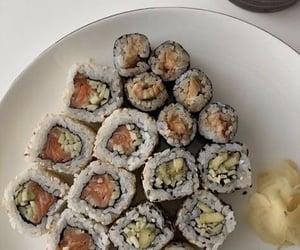 food, sushi, and asian food image