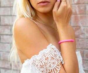 pink, glassbeads, and bracelets image