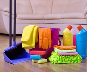 office cleaning, sofa cleaning, and house cleaning services image