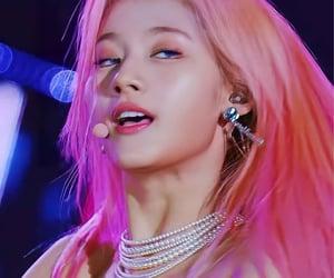 beautiful, pink, and pink hair image