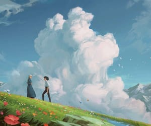 ghibli, howl's moving castle, and anime image