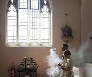 Catholic, church, and incence image