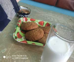 food, milk, and еда image