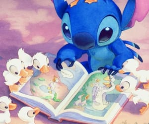 cartoon, disney, and lilo and stitch image