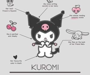 hello kitty, kuromi, and cute image