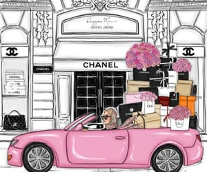 chanel, luxe, and shopping image
