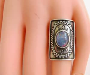 etsy, size 7 ring, and artisan jewelry image